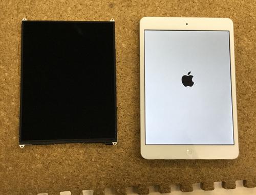 iPad Mini 液晶交換