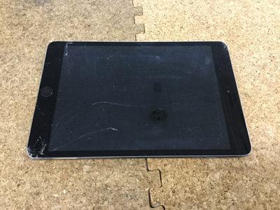 iPad Mini3 ガラス割れ